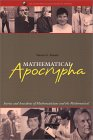 KRANTZ: Mathematical Apocrypha : Stories and Anecdotes of Mathematicians and the Mathematical