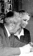 A. N. Kolmogorov with his wife Anna Dmitrievna