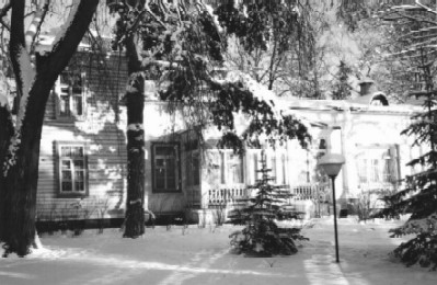 Komarovka home in winter